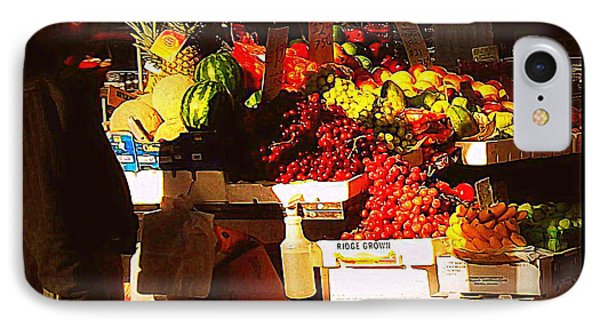 IPhone Case featuring the photograph Sun On Fruit by Miriam Danar