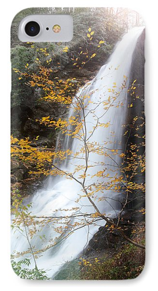 Sun Over Dry Falls Nc IPhone Case by Coby Cooper