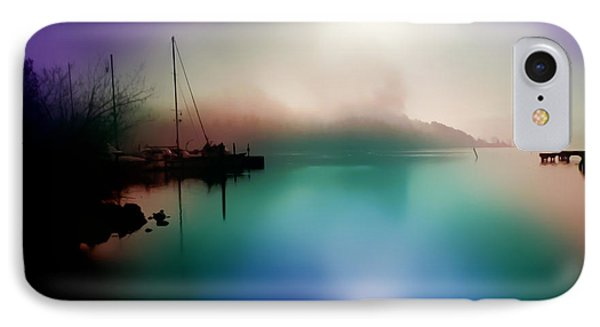 Sun Peeking Through The Clouds  In Kenmore Washington IPhone Case