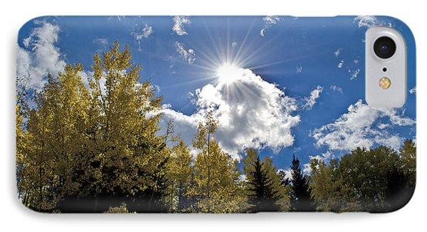 Sun Rays Across Colorado Mountain IPhone Case