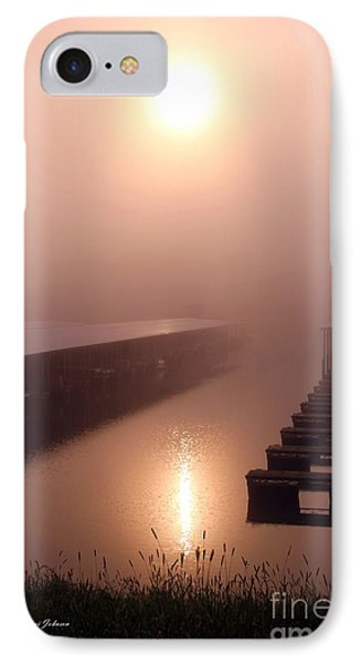 IPhone Case featuring the photograph Sun Refleting On The Water  by Yumi Johnson