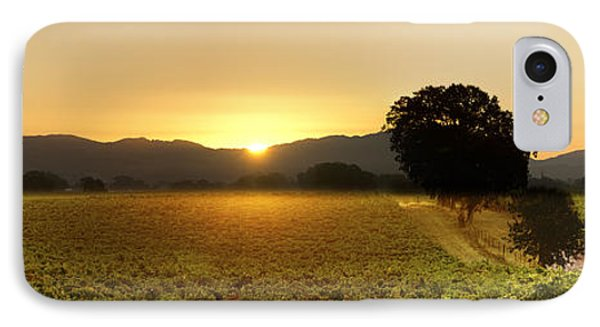 Sun Rise Sonoma IPhone Case by Stan Angel