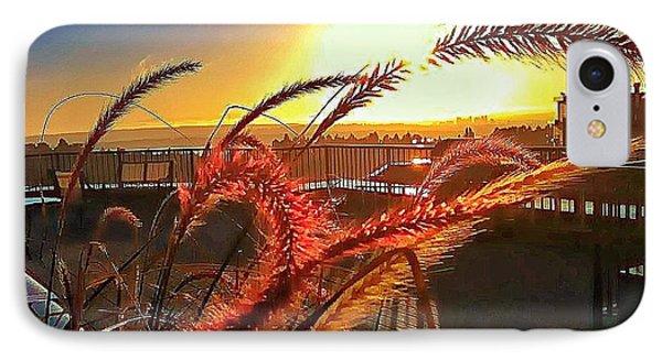 Sun Rises Wheatley IPhone Case by Eddie G
