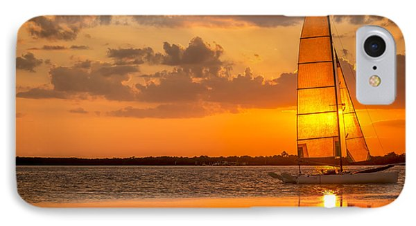 Sun Sail IPhone Case by Marvin Spates