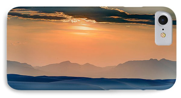 Sun Sand Mountains IPhone Case by Allen Biedrzycki