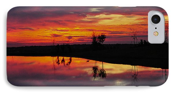 Sun Set At Cowen Creek IPhone Case