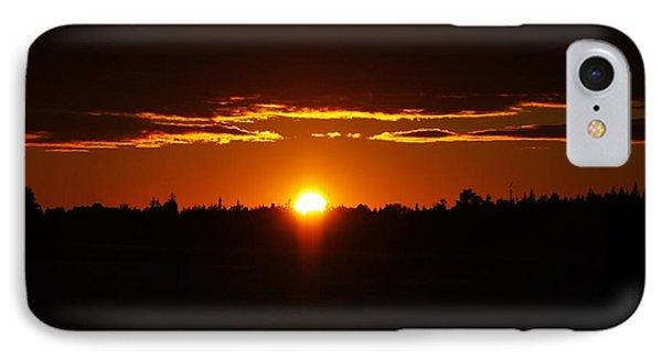 Sun Sets Over Huron IPhone Case