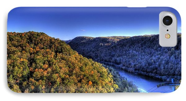 Sun Setting On Fall Hills IPhone Case by Jonny D