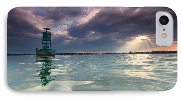 IPhone Case featuring the photograph Sun Spill Over Annapolis by Jennifer Casey