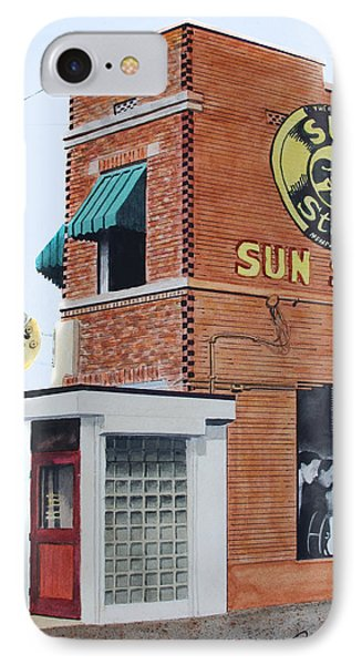 IPhone Case featuring the painting Sun Studio by Ferrel Cordle