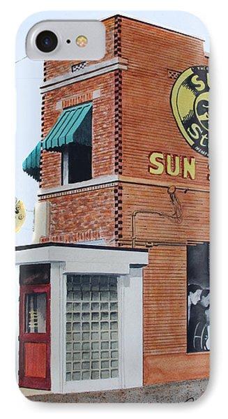Sun Studio IPhone Case by Ferrel Cordle