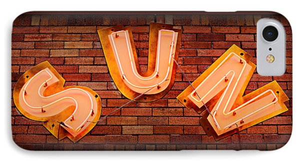 Sun Studio Neon IPhone Case by Stephen Stookey