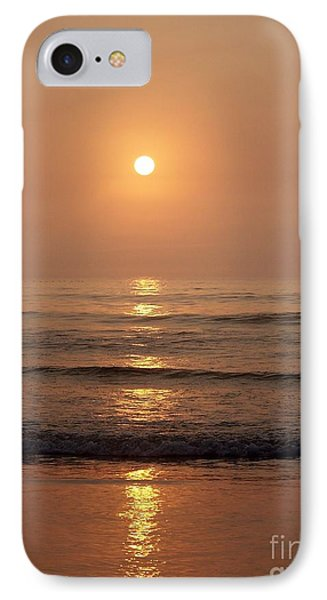 Sun Up Along Hampton Beach Phone Case by Eunice Miller