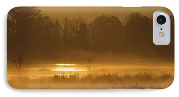 Sun Up At The Refuge IPhone Case by I'ina Van Lawick