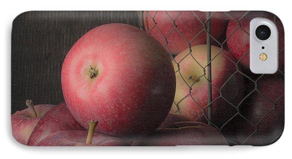 Sun Warmed Apples Still Life Standard Sizes Phone Case by Edward Fielding