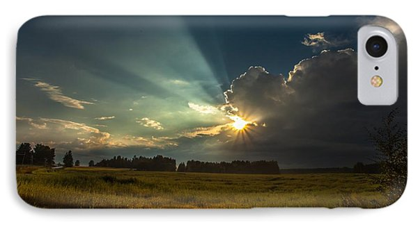 IPhone Case featuring the photograph Sunbeam by Rose-Maries Pictures
