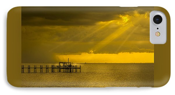 Sunbeams Of Hope IPhone Case by Marvin Spates