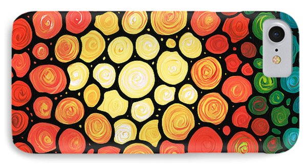Sunburst Phone Case by Sharon Cummings