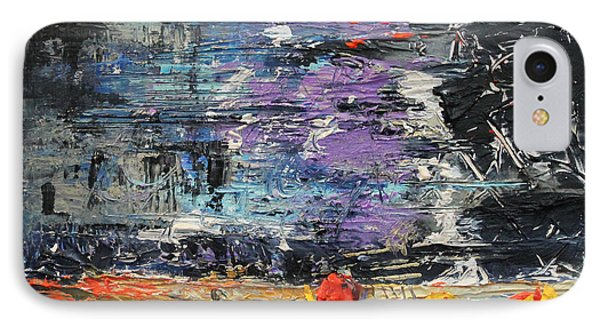 Sunday Blues IPhone Case by Lucy Matta - LuLu