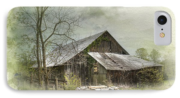 IPhone Case featuring the photograph Sunday Drive Barn by Kathleen Holley