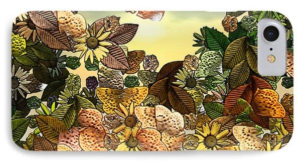 Sunday Garden Phone Case by Wendy J St Christopher