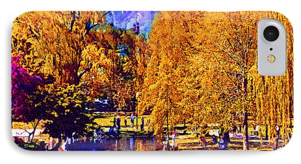 Sunday In The Park IPhone Case by Kirt Tisdale