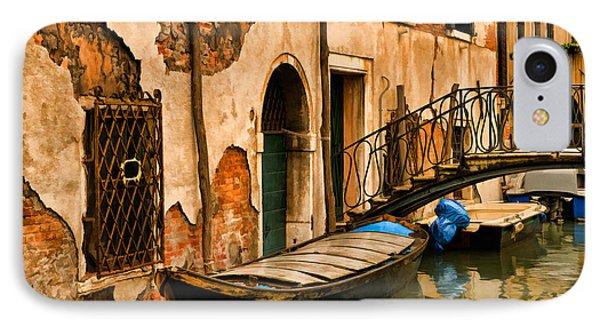 Sunday In Venice Phone Case by Mick Burkey