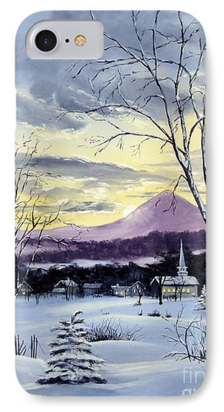 Sunday In Winter IPhone Case by Lee Piper