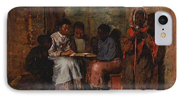 Sunday Morning In Virginia, 1877 Oil On Canvas IPhone Case