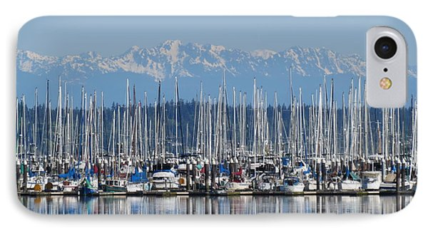 Sunday Morning Masts IPhone Case by Gayle Swigart