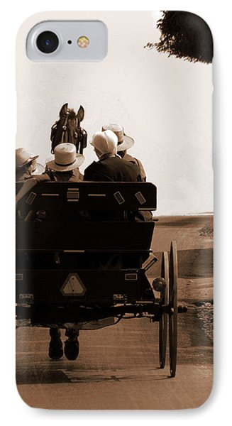 Sunday Ride Phone Case by Teri Moore