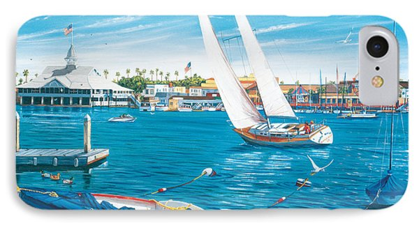 Sunday Sail IPhone Case by Steve Simon