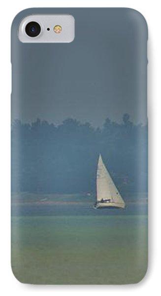 Sunday Sailing  IPhone Case by Daniel Thompson
