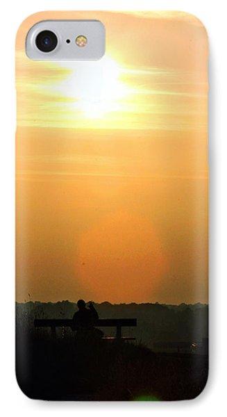 Sunday Sunset Phone Case by Pedro Fernandez