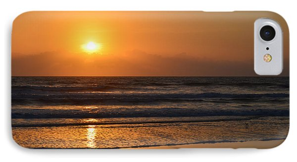 Sundays Golden Sunrise IPhone Case by DigiArt Diaries by Vicky B Fuller