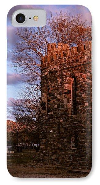 IPhone Case featuring the photograph Sundown At Rhineland Castle by Glenn Feron