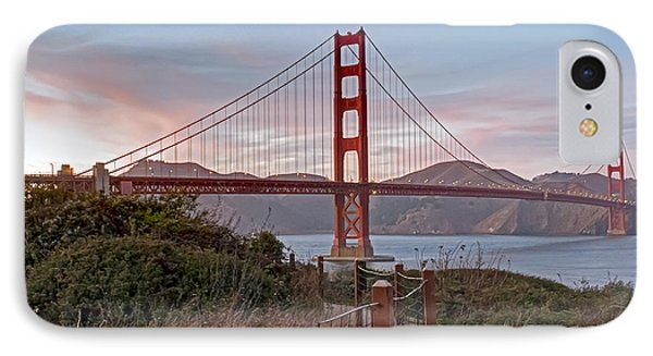 IPhone Case featuring the photograph Sundown Bridge by Kate Brown