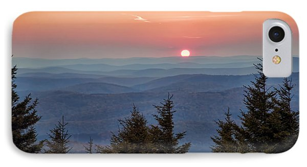 IPhone Case featuring the photograph Sundown From Spruce Knob by Jaki Miller