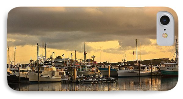 IPhone Case featuring the photograph Sundown In The Bay... by Tammy Schneider