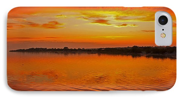 IPhone Case featuring the photograph Sundown Near Jastarnia At Hel Penisula In Poland by Julis Simo