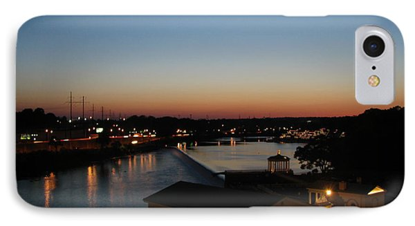 Sundown On The Schuylkill IPhone Case by Christopher Woods