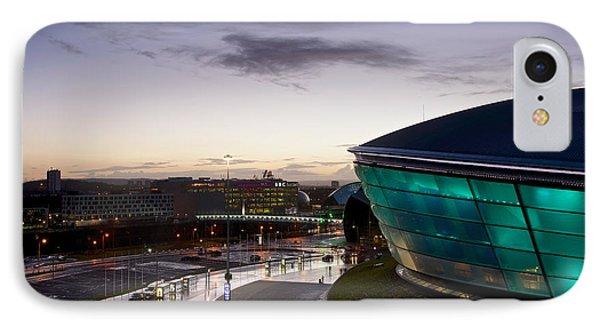 Sundown Over Glasgow IPhone Case by Stephen Taylor
