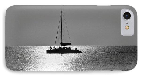 Sundown Sail IPhone Case by Amar Sheow