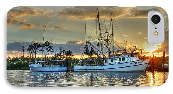 Sundown With Variety Pack IPhone Case by Michael Thomas