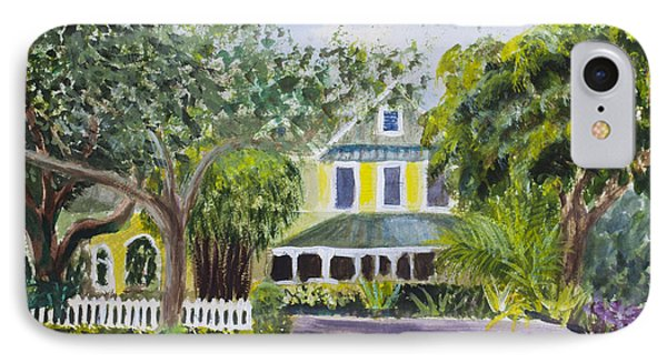 Sundy House In Delray Beach IPhone Case by Donna Walsh