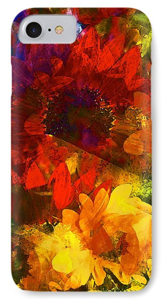 Sunflower 11 IPhone Case by Pamela Cooper