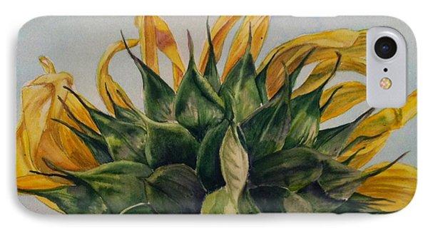 Sunflower 3 IPhone Case