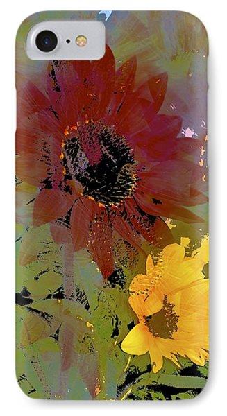 Sunflower 33 IPhone Case by Pamela Cooper