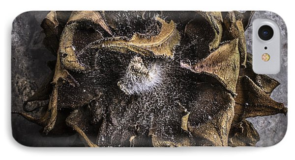 Sunflower Abstract Square Phone Case by Edward Fielding