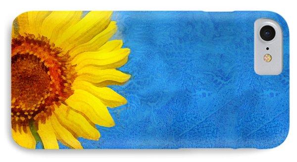 Sunflower Art Phone Case by Ann Powell